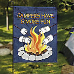 "Mini ""Campers"" Yard Flag & Flagpole"