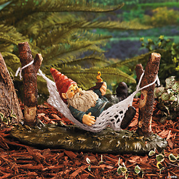 Gnome on a Hammock