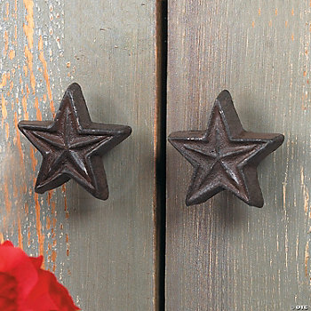 Rustic Star Drawer Pulls