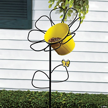 Daisy Bird Feeder Yard Stake