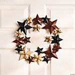 Americana Star Wreath