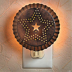 Rustic Star Night-Light