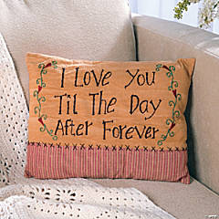 """I Love You..."" Pillow"