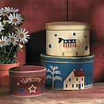 Americana Stacking Boxes