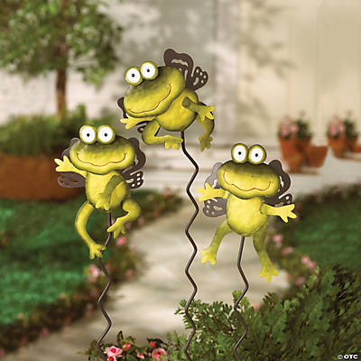 Angel Frog Yard stakes