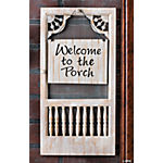 """Welcome to the Porch"" Sign"