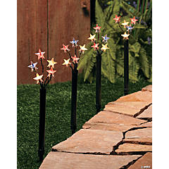 Fireworks Yard Stakes