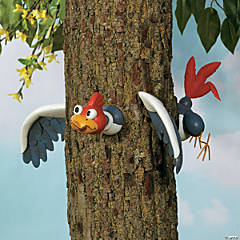 Woodpecker Tree Decoration
