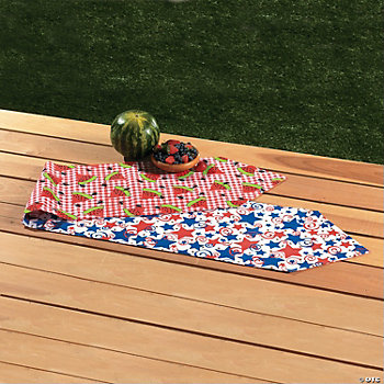 Patriotic & Watermelon Table Runner