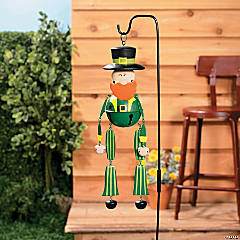 Leprechaun Jingle Bell Yard Stake