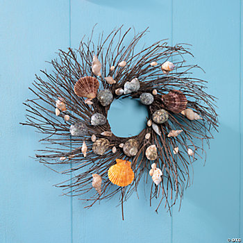 Seashell Twig Wreath