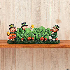 """Kiss Me I'm Irish"" Tabletopper"