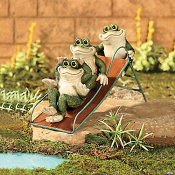 Frogs on a Slide