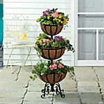 Three-Tiered Flower Basket