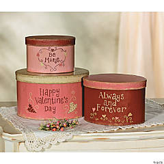 Valentine's Day Stacking Boxes