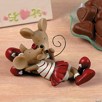 Mouse Couple Figurine