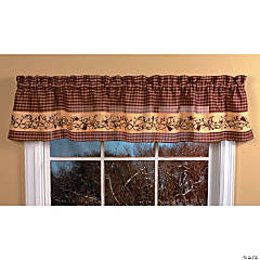 Country Heart Valance