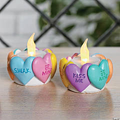 Valentine Heart Tealight Holders