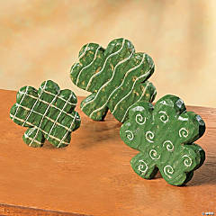 Tabletop Shamrock Decorations