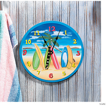 Surfboard Clock