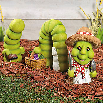 Inch Worm Yard Decoration