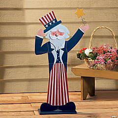 Uncle Sam Standing Decoration