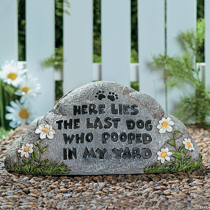Here lies the last dog garden stone discontinued here lies the last dog garden stone discontinued workwithnaturefo
