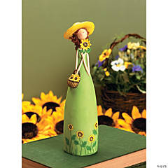 Spring Girl Figurine
