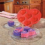 Heart-Shaped Cupcake Mold