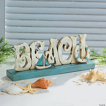 """Beach"" Tabletop Decoration"
