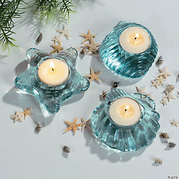 Seashell-Shaped Tealight Holders