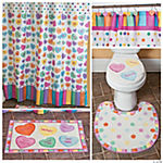 Conversation Hearts Bathroom Collection