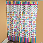 Conversation Hearts Shower Curtain