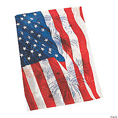 Red, White & Blue Garden Flag
