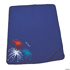Personalized Patriotic Throw