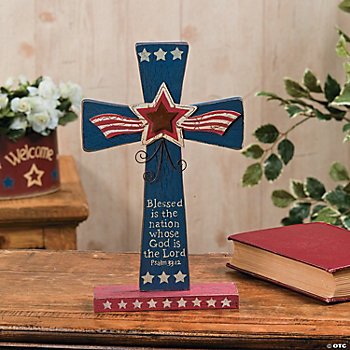 Patriotic Cross