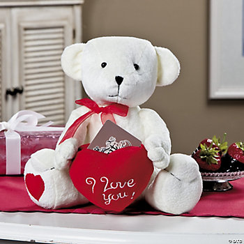 Plush Bear with Gift Card Holder