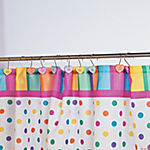 Conversation Hearts Shower Curtain Hooks