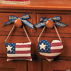 Americana Hanging Pillows