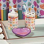 Conversation Hearts Bathroom Accessories