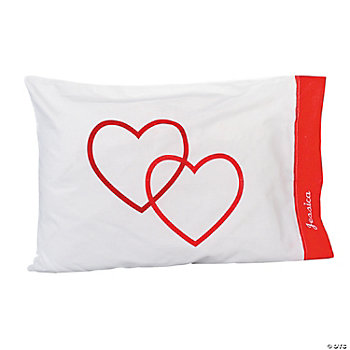 Personalized Valentine Pillowcases