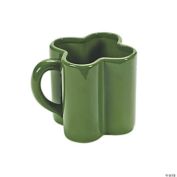 Shamrock-Shaped Mug