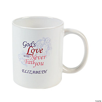 Personalized Inspirational Valentine's Day Mug