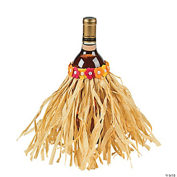 Luau Wine Bottle Cover