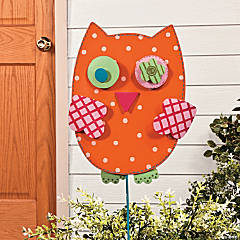 Owl Yard Stake