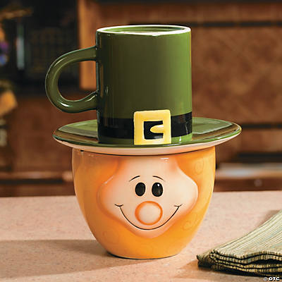 St. Patrick's Day Leprechaun Snack Set