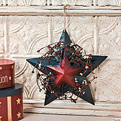 Americana Barn Star Wall Hanging