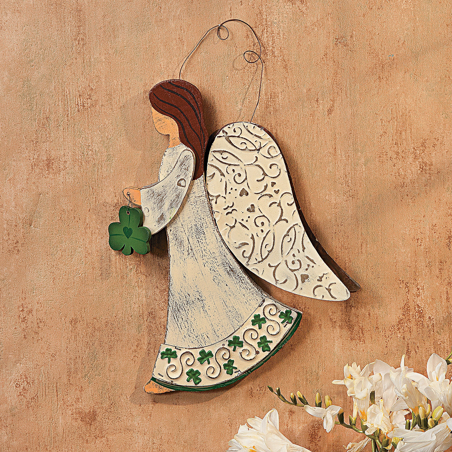Irish angel wall decor oriental trading discontinued for Angel wall decoration