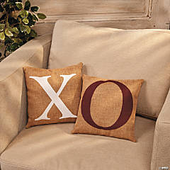 """X"" & ""O"" Pillows"