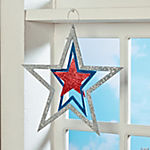 3D Patriotic Hanging Star